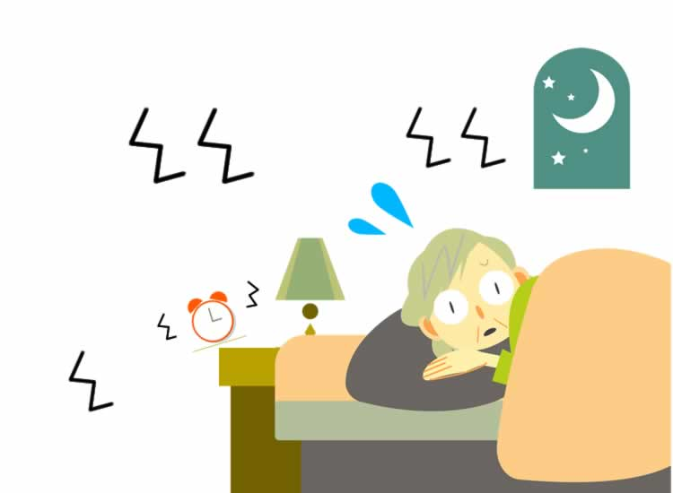 就寝中に大地震が発生